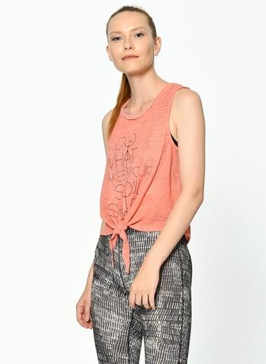 Only Baskılı T-Shirt Pembe